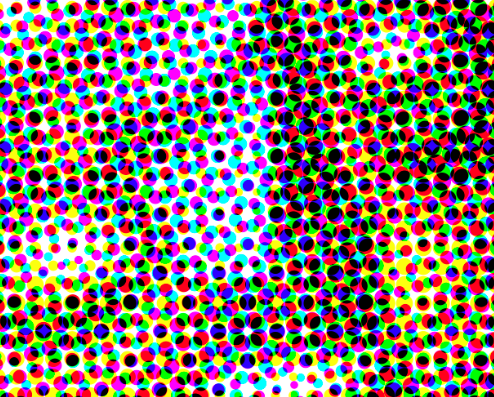 CMYK Dot Screen