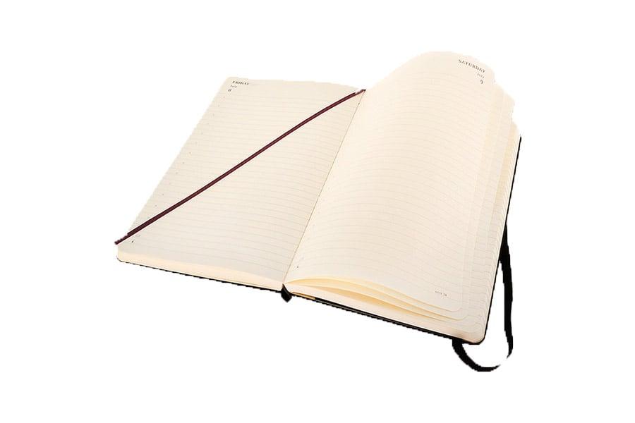 Handig: je afspraken en notities in een Moleskine® schrijven